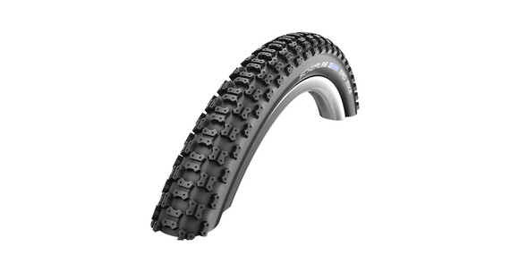 SCHWALBE Mad Mike band Active, 18 inch, SBC, draad zwart